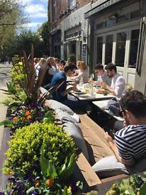 Holland Park/Notting Hill Restaurant/Brasserie seeking experienced staff, Full time to £11 p/h