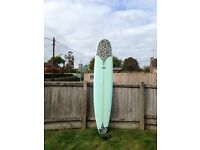 Surf longboard 9ft 2'