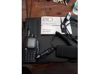 vhf uhf Transceiver ham radio and antenna