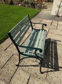 Refurbished Vintage Garden Bench