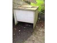 Coal bunker - precast concrete