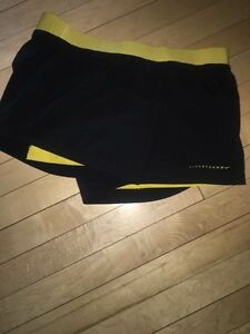 Nike black dry fit shorts never worn also reverseable