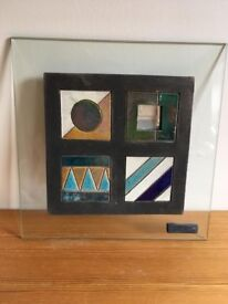 Ceramic and glass picture