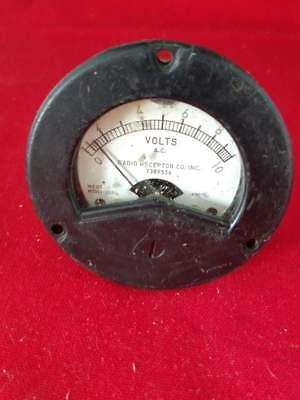 Vintage Weston Model 2524 Ac Volts Analog Panel Meter Untested