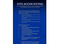 OTE Accountancy Services offering services such as bookkeeping, HMRC and Companies House services