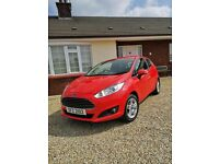 2013 Ford Fiesta 1.25 Zetec-£30 Tax-Facelift