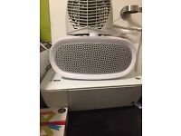 Portable heater and fan