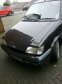 Ford fiesta xr2i with 2ltr engine fitted