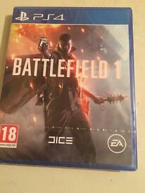 Battlefield 1 (PS4) Brand New & Sealed