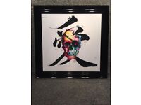 """Framed liquid art Patrice Murciano picture,Approx 33×33"""""""