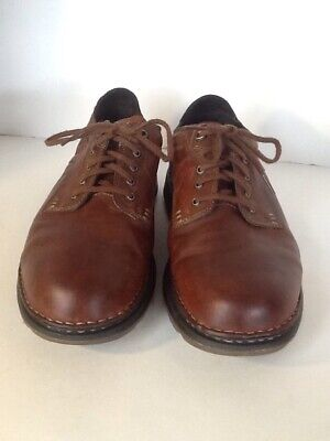 Timberland 1778 Men's Brown Leather Oxford Lace Up Shoes Size 10.5M Pre Owned