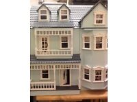 Large doll house ready to move in