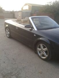 2005 55 AUDI A4 CABRIOLET 2.5 V6 TDI AUTOMATIC NEEDS CLUTCH VERY CLEAN CAR