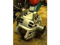 VAUXHALL VIVARO ALTERNATOR , 1.9 CDTI ,GENUINE PART ,FITS 2006-CURRENT , LIKE NEW ONLY DONE 700 mls