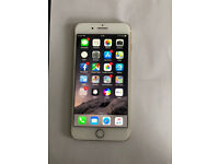 """Iphone 7 PLUS 5.5"""" 256GB factory unlocked to any network mint condition white and gold"""
