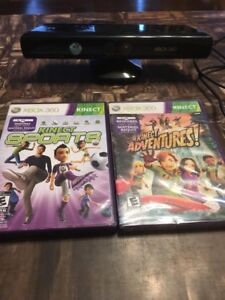 Kinect with games