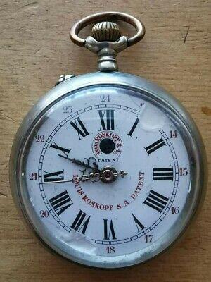 Louis Roskopf S.A. Patent 1906 , cipolla, orologio da taschino funzionante