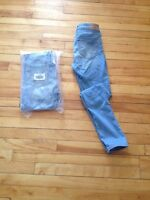Jeans taille haute Hollister Taille 1