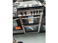 BELLING 50 cm Gas Cooker - Stainless Steel Ex display (12 Months Warranty)