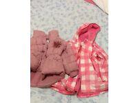 2-3 years girls coat bundle