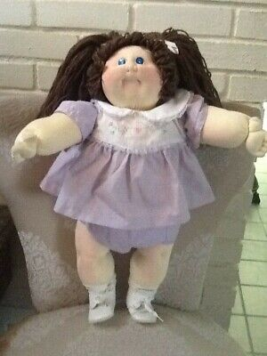 """1983 CABBAGE PATCH KIDS 22"""" little people soft sculpture doll - CUTE"""