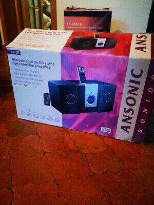 Altavoces ansonic PRECINTADO NUEVO Equipo multimedia sonido hi-fi stereo cinema