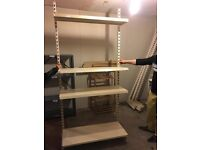Detachable Industrial Metallic Shelves/ shelving racking (retail/kitchen/shop) hight:2.1m length:3m