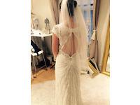 Brand new wedding dress. Never worn. Bought in Copenhagen, Denmark, made in Paris, France