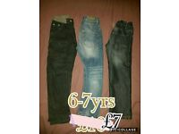 Boys 6-7 jeans, shoes, asseccories and more - see pics!