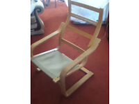Ikea Poang oak chair frame (no cushion)