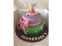 £1 cupcakes, birthday cakes £35 and £40 wedding cakes