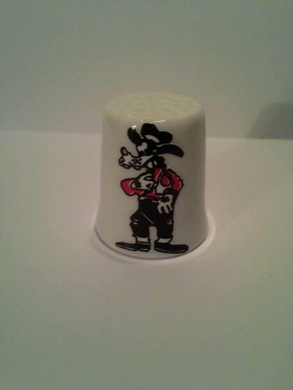 Up4Bid Goofy Collectible Porcelain Thimble