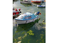 16ft motor boat with two engines in excellent condition