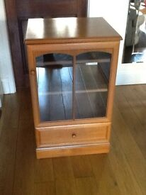 Stag Hifi unit in teak, very rare piece, in excellent condition.