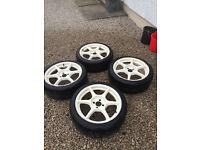 Buddyclub P1 Racing Alloys - Civic EK/EG/EP1/MX5/E30/E36