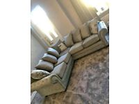 DECENT BRAND NEW NICOLE CORNER SOFA WITH AMAZING DISCOUNTED OFFER IS AVAILABLE