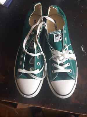 Converse Unisex Adults' Chuck Taylor All Star Season Ox Trainers Green Size (Chuck Taylor All Star Seasonal Ox Sneaker Unisex)