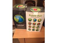 Puzzle ball puzzle set