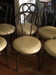Ice cream parlour chairs!