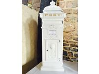Stunning wedding postbox FOR HIRE - ONLY £30!!