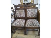 Pair of Dinning Chairs.
