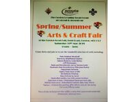 Cuxton Scout Group Summer Arts & Craft Fair Saturday 19th May 2018 11am-3pm