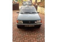 Excellent peugeot 205- believed to be Limited Edition