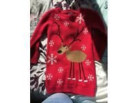 Girls xmas jumper