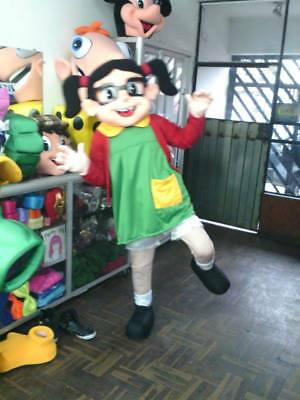 Chilindrina El Chavo del Ocho 8 Mascot Costume Party Character Halloween Cospkay