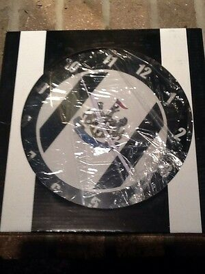 Newcastle United Wall Clock Football Soccer Official Merchandise