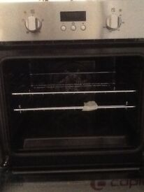 Zanussi integrated single oven. Never used.