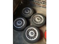 14'' BBS Alloys with tyres