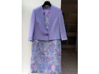 BRAND NEW PIFER & MAYKA MOTHER OF THE BRIDE/WEDDING GUEST/RACESDRESS & JACKET, SIZE 16