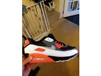 nike air max 90 trainers brand new in box size 9